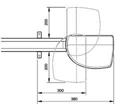 Sekční garážová vrata SPIN11KCE