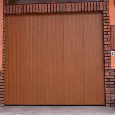 Posuvná sekční garážová vrata
